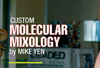Happy Hour Magazine Molecular Mixologist Mike Yen Feature